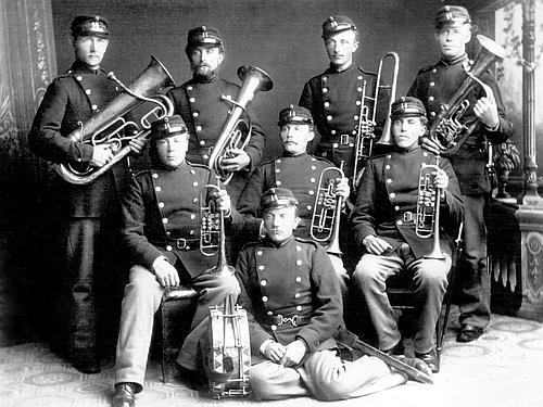 14. Bataljons frivillige musikkorps 1917.